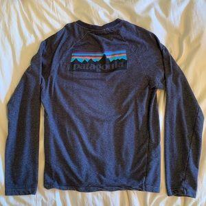 Patagonia Men's Long Sleeve Logo Tee
